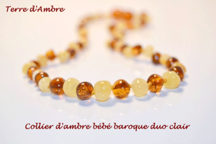 Colliers d'Ambre Bébé Collection Exclusive