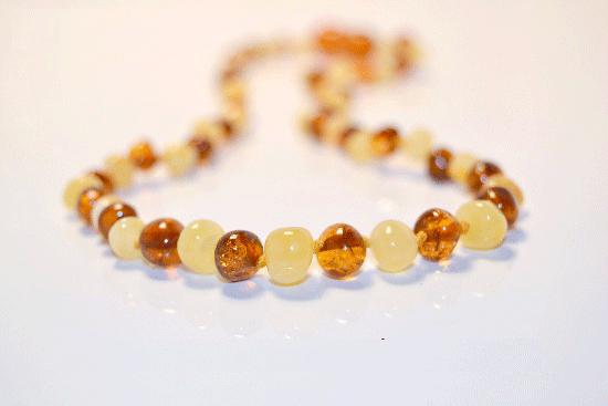 collier d'ambre pour homme