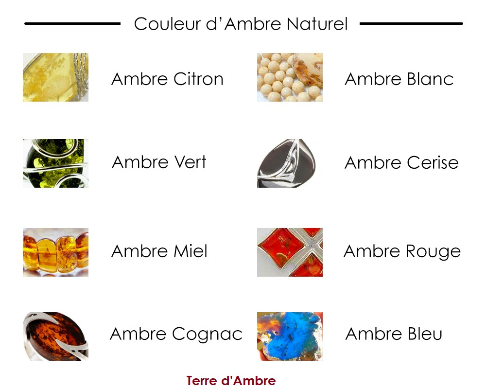 couleur ambre naturel